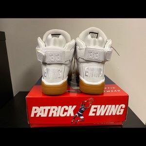 Patrick Ewing's Hi 33 white Gum bottom
